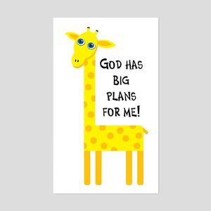 Cute Christian Rectangle Sticker