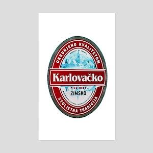 Croatia Beer Label 1 Sticker (Rectangle)