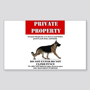 GSD property Sticker