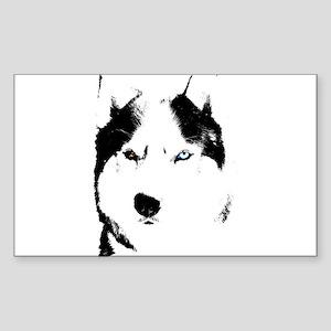 Husky Gifts Bi-Eye Husky Shirts & Gifts Sticker (R