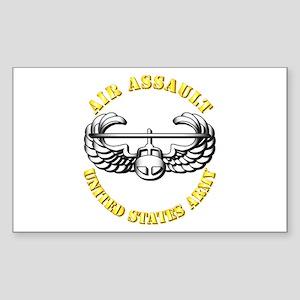 Emblem - Air Assault Sticker (Rectangle)