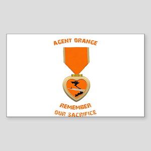 Agent Orange Sticker (Rectangle)