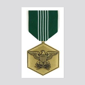Commendation Medal Rectangle Sticker