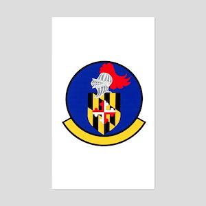 175th Logistics Squadron Rectangle Sticker