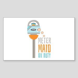 Maid On Duty Sticker