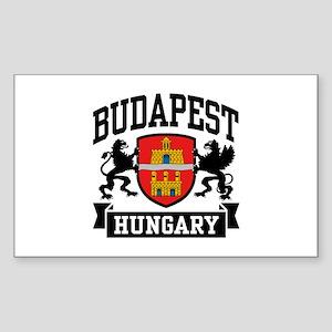 Budapest Hungary Sticker (Rectangle)