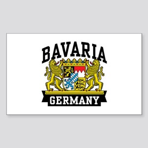 Bavaria Germany Sticker (Rectangle)