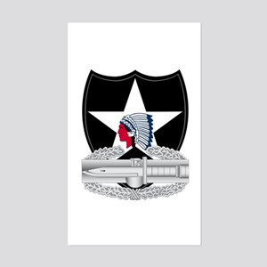 2nd Infantry CAB Sticker (Rectangle)