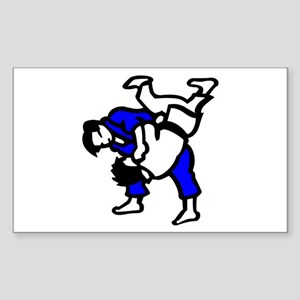 Judo Sticker (Rectangle)