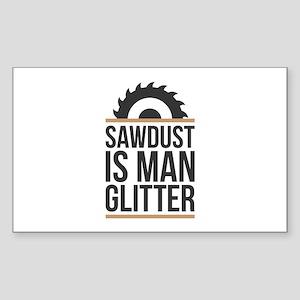 Sawdust Sticker (Rectangle)