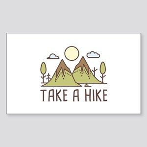Take A Hike Sticker (Rectangle)