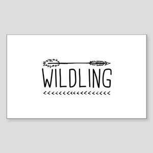 Wildling Sticker (Rectangle)