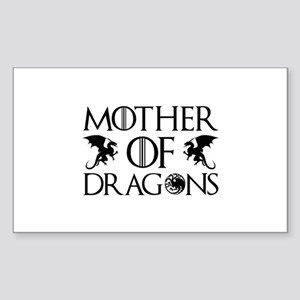 Mother Of Dragons Sticker (Rectangle)