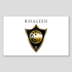 Khaleesi Sticker (Rectangle)