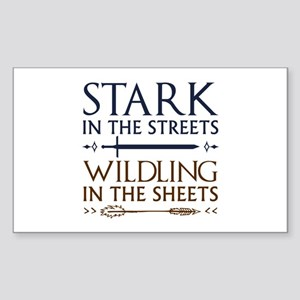 Stark In The Streets Sticker (Rectangle)