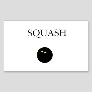 Squash Rectangle Sticker