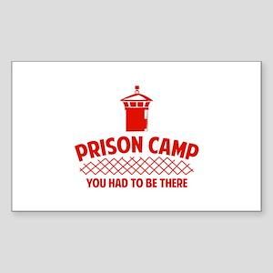 Prison Camp Sticker (Rectangle)