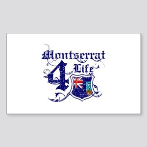 Montserrat for life designs Sticker (Rectangle)