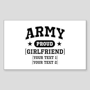Army grandma/grandpa/girlfriend/in-laws Sticker (R