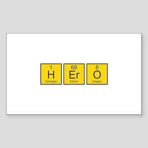 Hero Sticker (Rectangle)