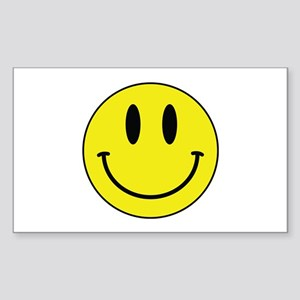 Keep Calm And Be Happy Sticker (Rectangle)
