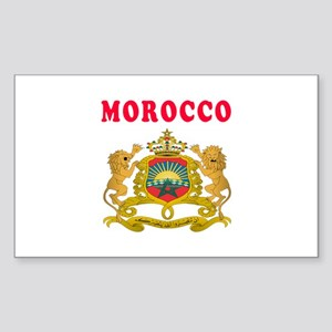 Morocco Coat Of Arms Designs Sticker (Rectangle)