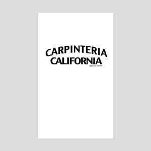 Carpinteria Sticker (Rectangle)