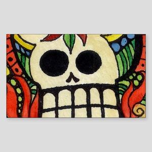 Amor Day of the Dead Skull Sticker