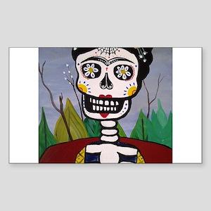 Frida's Dia De Los Muertos Sticker