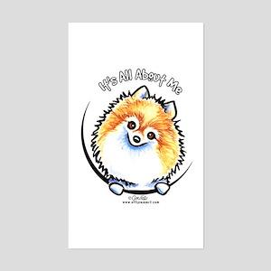 Pomeranian IAAM Sticker (Rectangle)