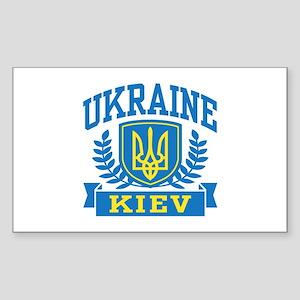 Ukraine Kiev Sticker (Rectangle)