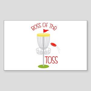 Toss Boss Sticker