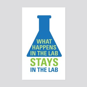 In The Lab Sticker (Rectangle)