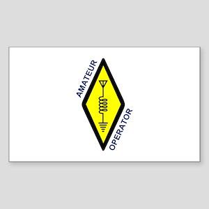 Amateur Operator Sticker