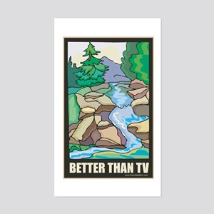 Outdoors Nature Sticker (Rectangle)