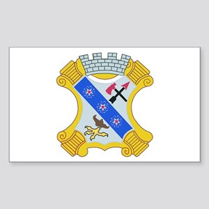 DUI - 1st Bn - 8th Infantry Regt Sticker (Rectangl