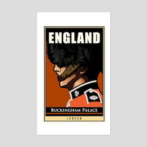 England Rectangle Sticker