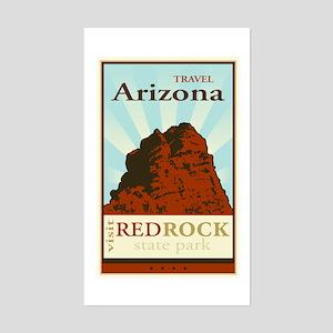 Travel Arizona Rectangle Sticker