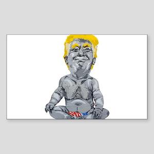 dump trump baby Sticker