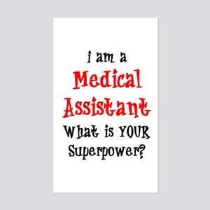 medical assistant Sticker (Rectangle)