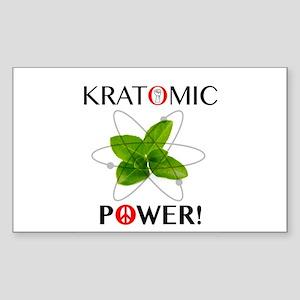 Kratomic Power Sticker