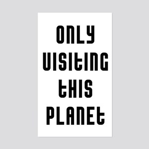 Only Planet Sticker (Rectangle)