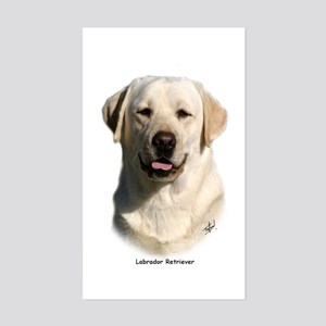 Labrador Retriever 9Y383D-267 Sticker (Rectangle)