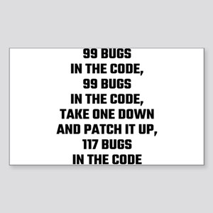 99 Bugs In The Code Sticker