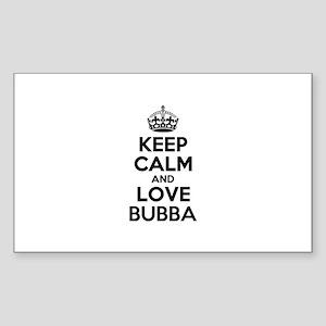 Keep Calm and Love BUBBA Sticker