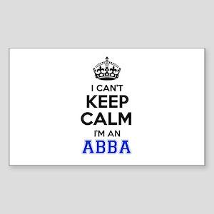 I cant keep calm Im ABBA Sticker