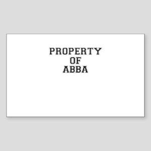 Property of ABBA Sticker
