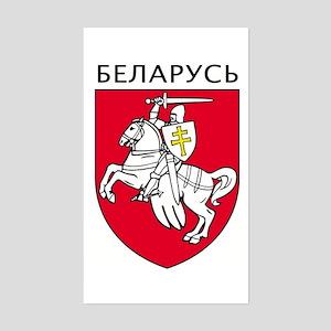 Belarus Rectangle Sticker