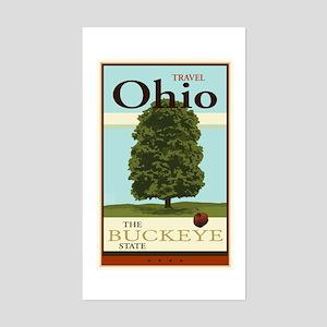 Travel Ohio Sticker (Rectangle)
