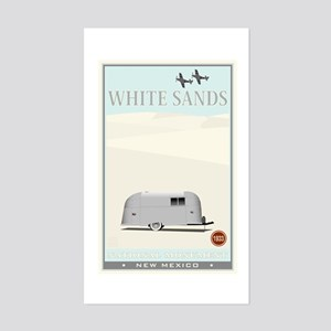 National Parks - White Sands 1 Sticker (Rectangle)